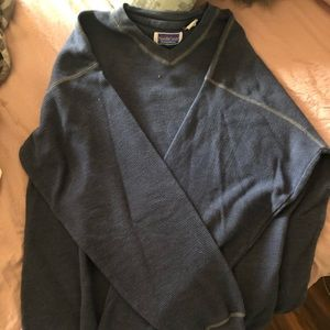 North Crest Navy Blue LongsleeveThermal